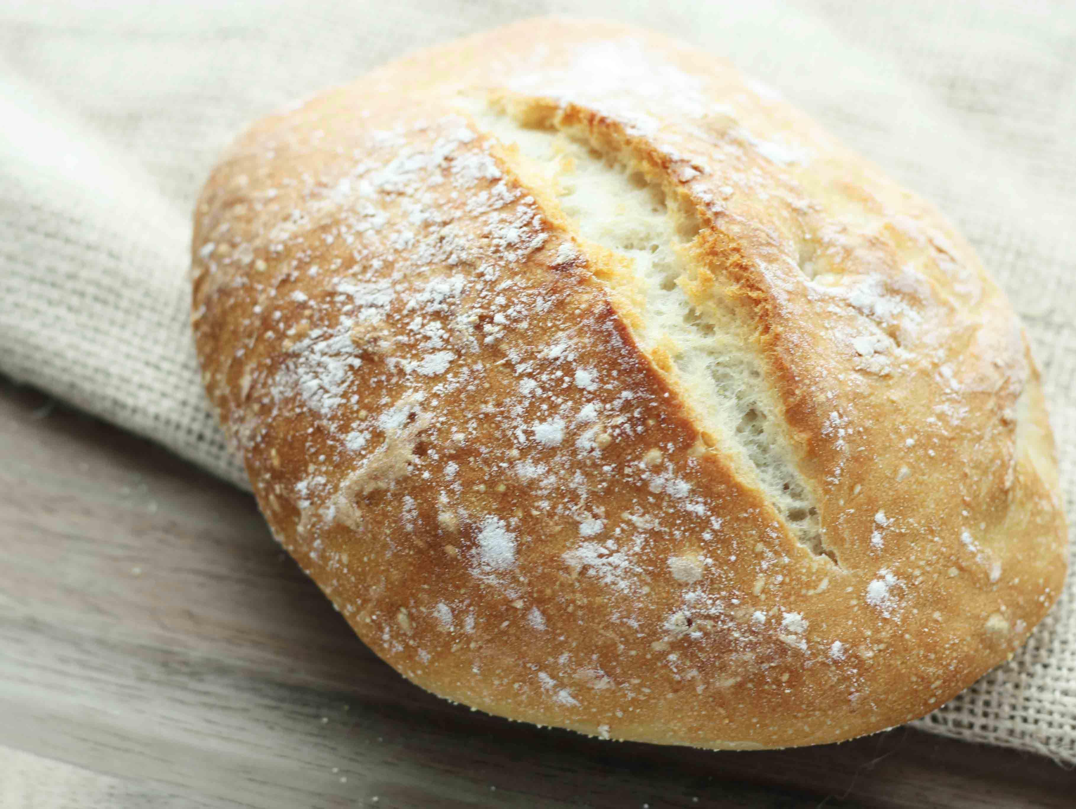how to make homemade flour bread