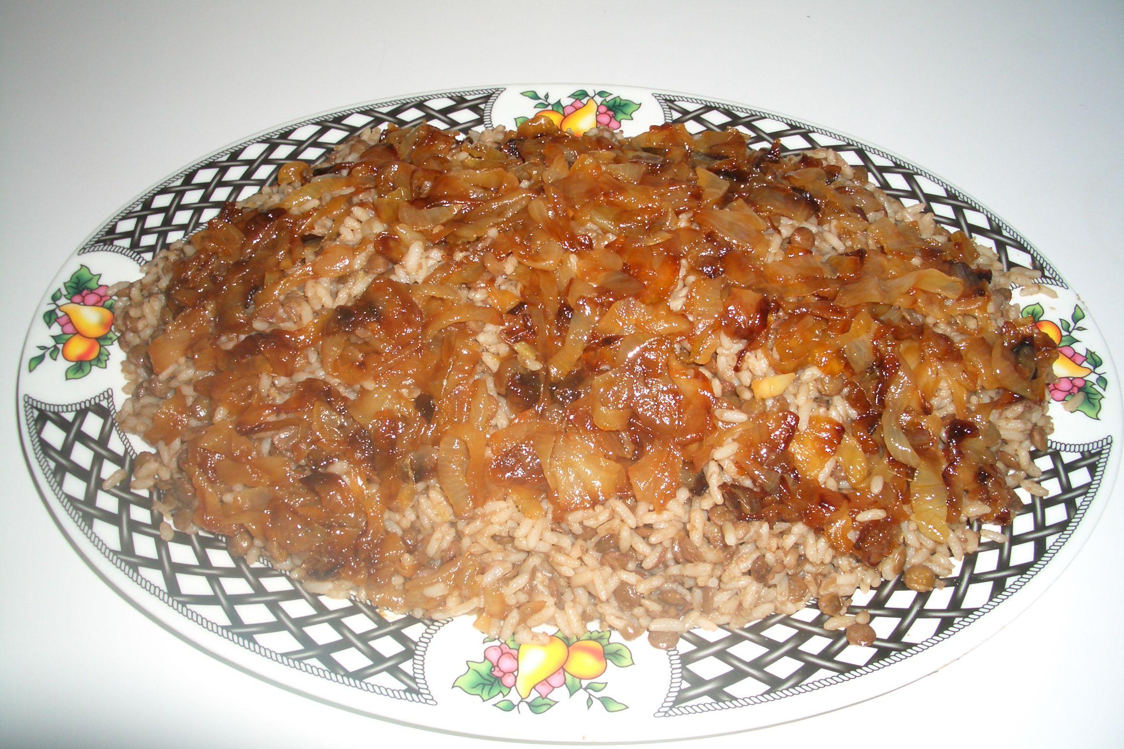 Lentils with Rice – Mujadara